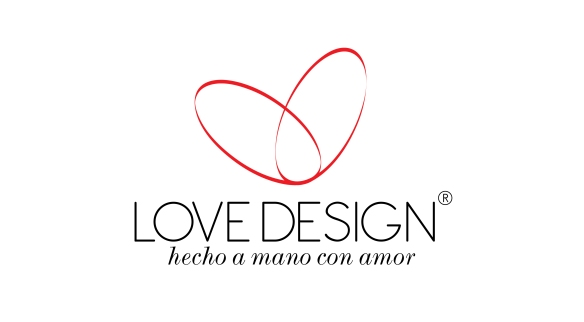 CABEZOTE LOVE DESIGN HECHO A MANO BLANCO